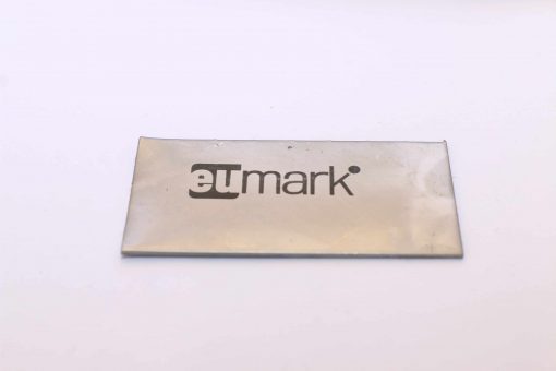 electrochemical etching of metal